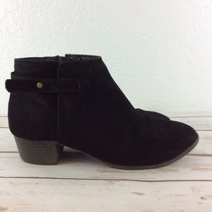 Old Navy | Black ankle boot sz 2 little girls